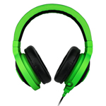 """""""Razer Kraken Pro - Green Brand New, The Razer Kraken Pro analog gaming headset features a foldable design that allows you to quickly and conveniently stow away and carry the headset on-the-go"""